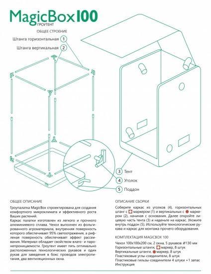 Гроутент MagicBox 100