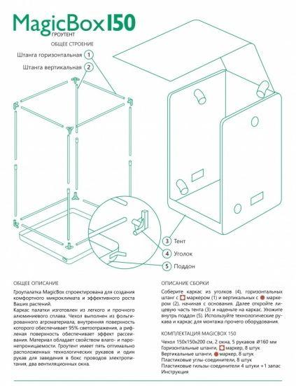 Гроутент MagicBox 150